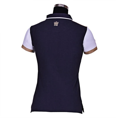 George H Morris Ladies Reserve Short Sleeve Polo Sport Shirt_4