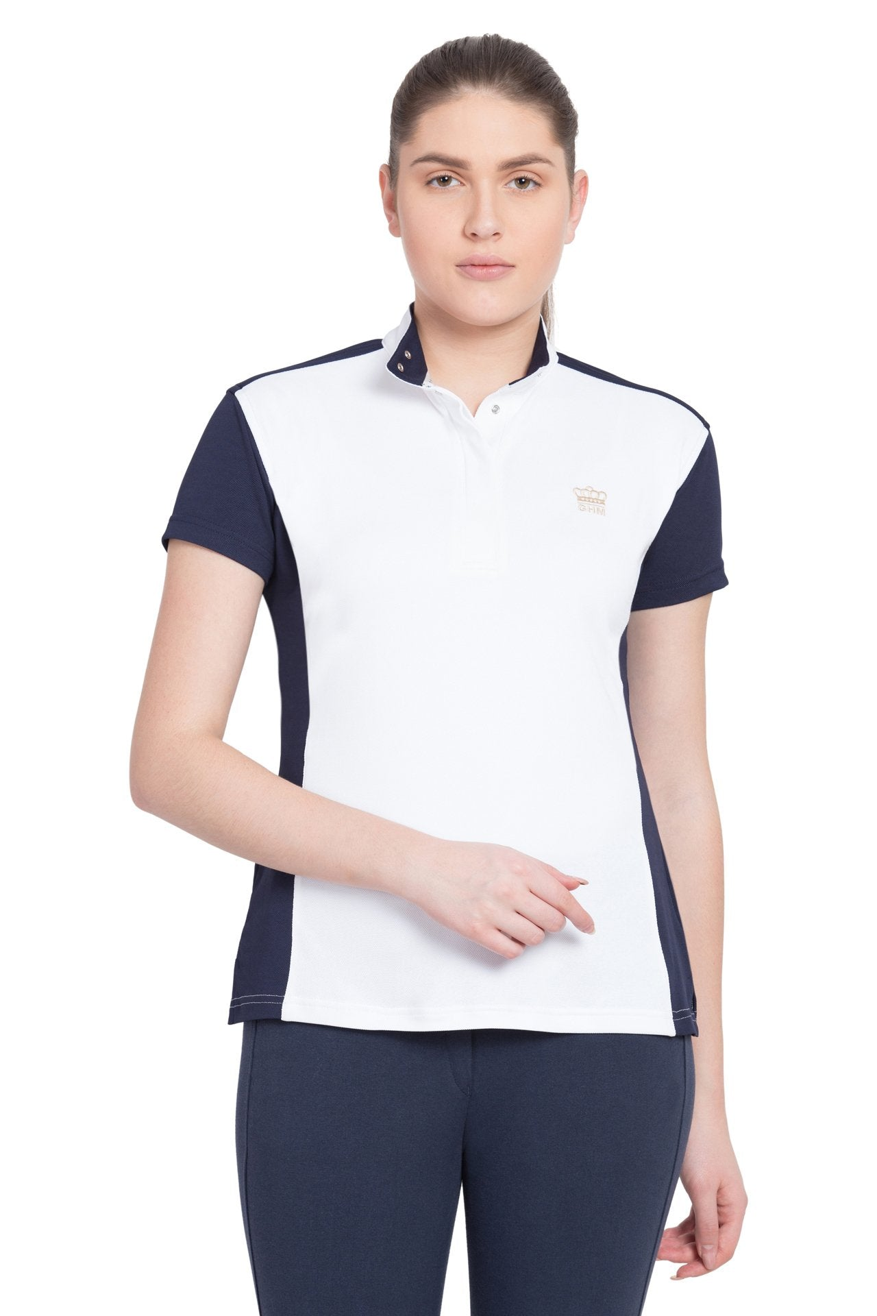 George H Morris Ladies Champion Short Sleeve Show Shirt_1