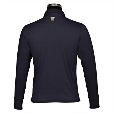 George H Morris Men's Pro Sport Long Sleeve Polo Sport Shirt_2