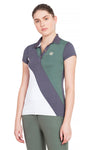 George H Morris Ladies Pro Sport Short Sleeve Polo Sport Shirt_4