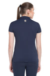 George H Morris Ladies Pro Sport Short Sleeve Polo Sport Shirt_10