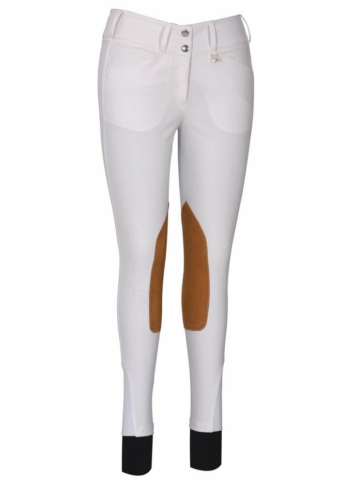 George H Morris Ladies Show Time Knee Patch Breeches_1