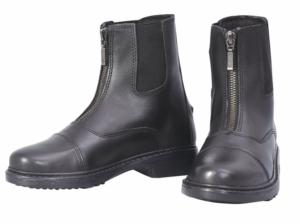Children's Perfect Front Zip Paddock Boots - TuffRider - Breeches.com