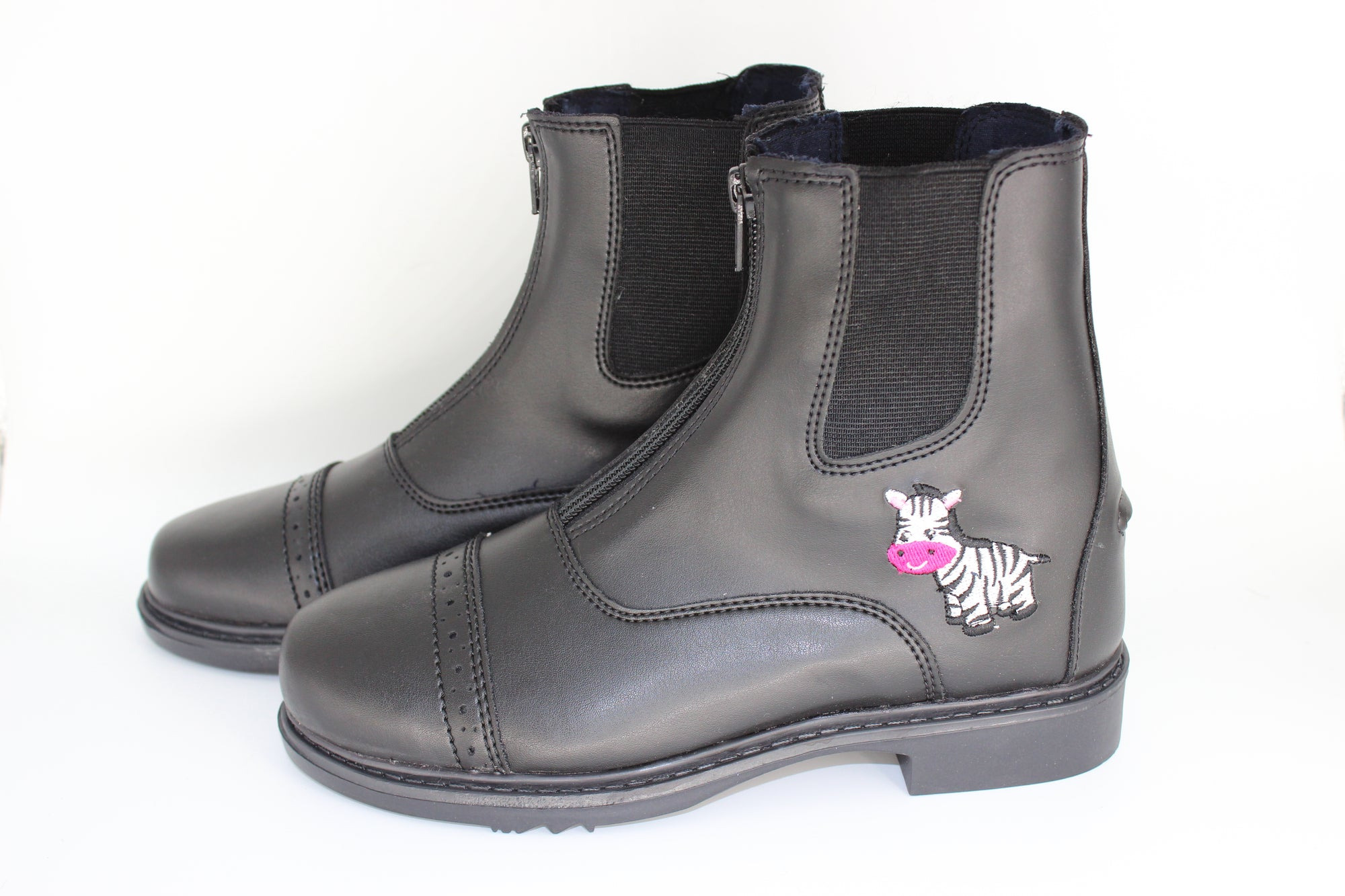 TuffRider Starter Zebra Paddock Boots for Children _1