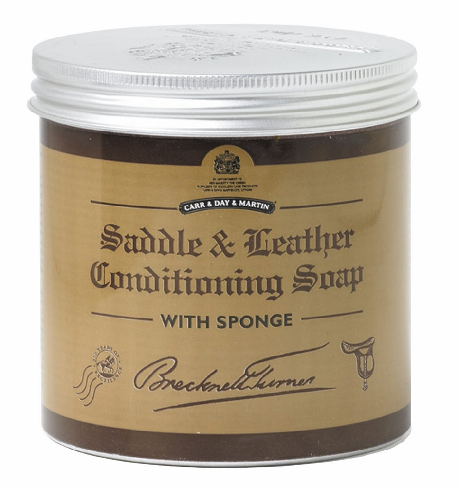 Brecknell Turner Saddle Soap 250ML - Carr & Day & Martin - Breeches.com