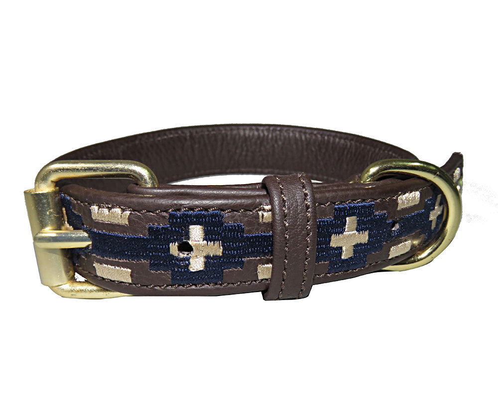 Dog Collar - Leather with Lex Dog Collar - Halo - Breeches.com