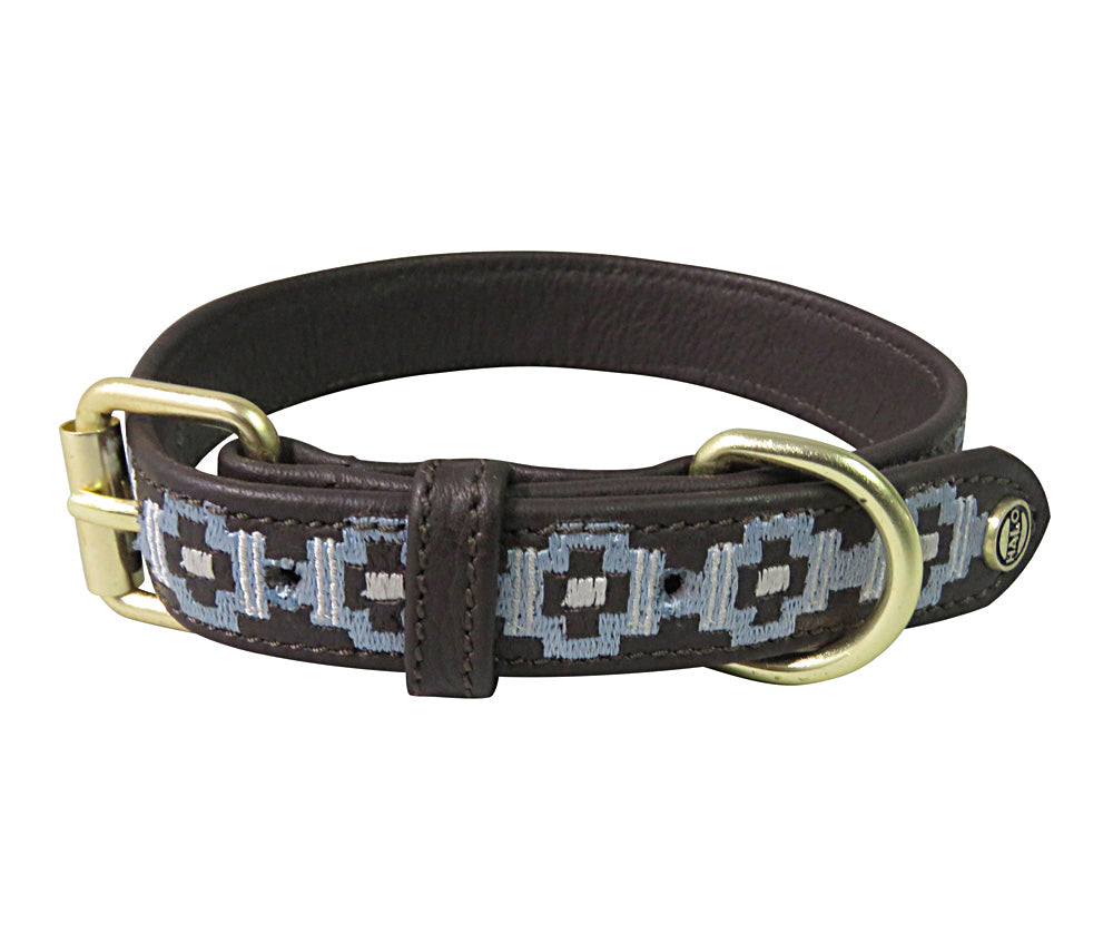 Dog Collar - Leather with Cam Dog Collar - Halo - Breeches.com
