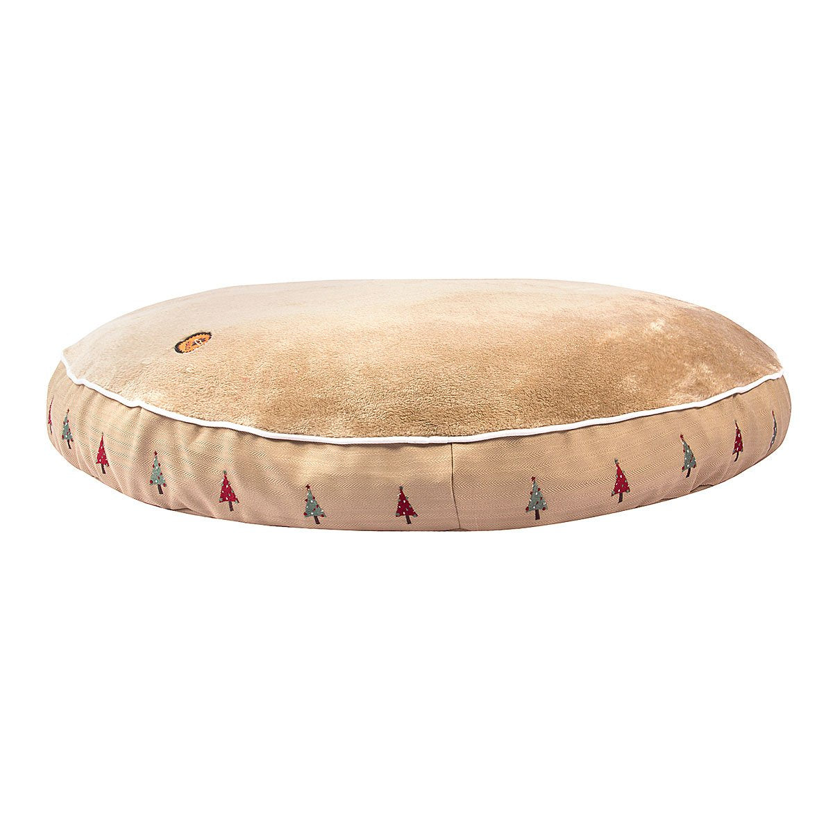 Christmas Tree Round Dog Bed - Halo - Breeches.com