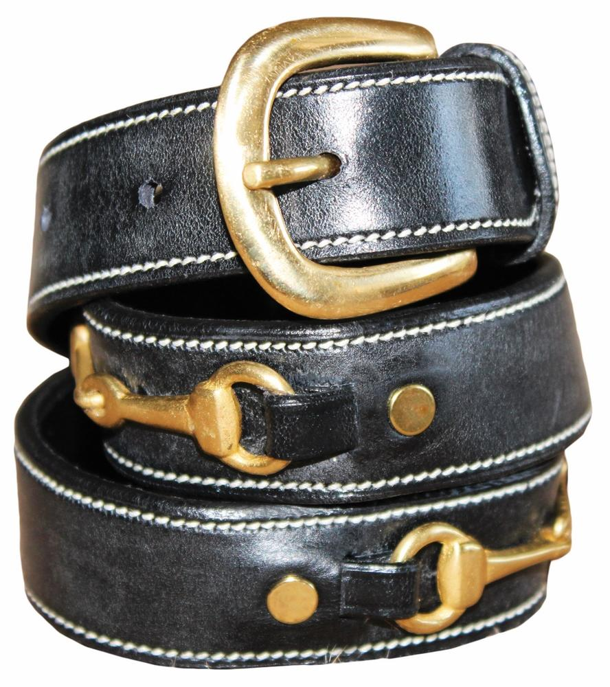 Henri de Rivel Ladies Double Snaffle Bit Belt_1