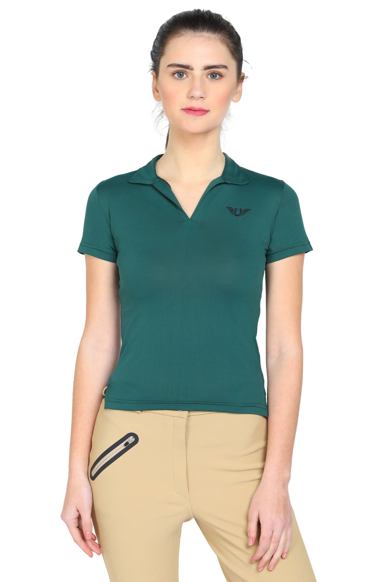 Tuffrider Ladies Taylor Short Sleeve Polo_1