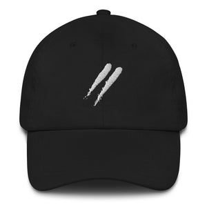 Black Slashes Dad Hat