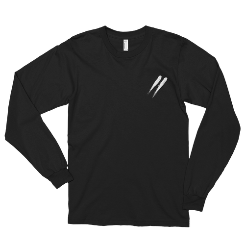 Slashes Long Sleeve Tee