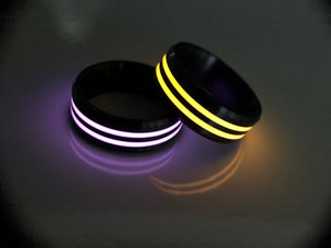 Horizon ring (double stripe ceramic)