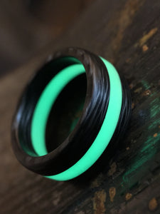 Eclipse solid carbon fiber and AGT ULTRA lume ring
