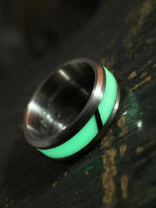 Isotope titanium and AGT ULTRA lume ring