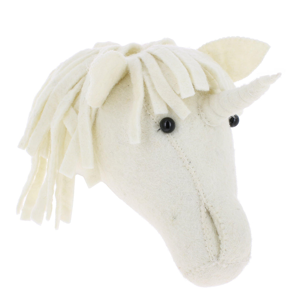 Fiona Walker Baby Unicorn Head - kapbulaorganics