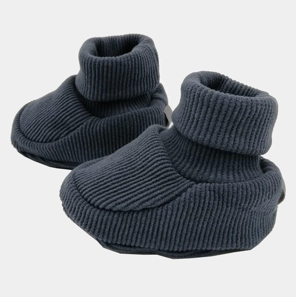 Organic Booties Pep Doggy Grey - kapbulaorganics
