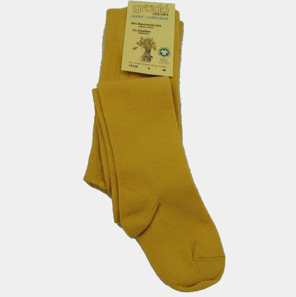Grödo Organic Tights Yellow - kapbulaorganics
