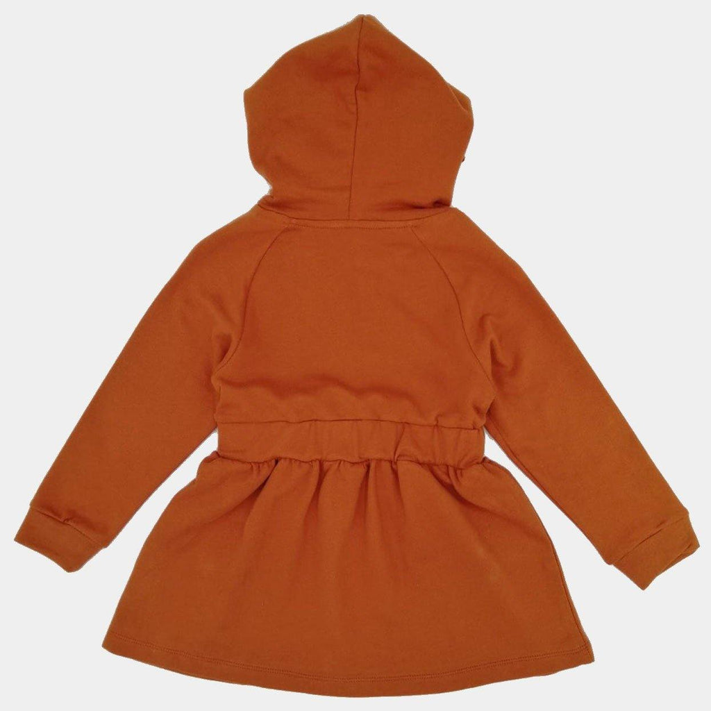 Organic Hooded Dress Pep Doggy - kapbulaorganics