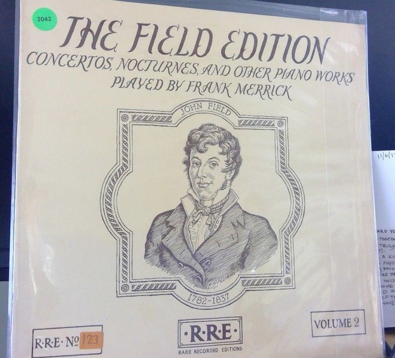 Field Edition- John Field- Frank Merrick Vol. 2- Rare Recorded editions 123 EX