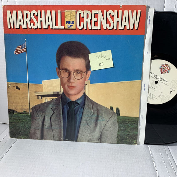 Marshall Crenshaw Field Day- Warner Bros 1 23873 WW8 VG+/VG+ Rock Record