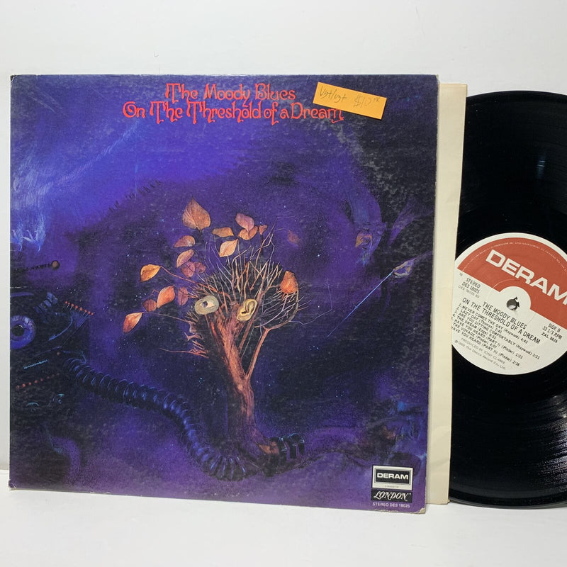 Moody Blues On The Threshold Of A Dream- Deram 18025 VG+/VG+