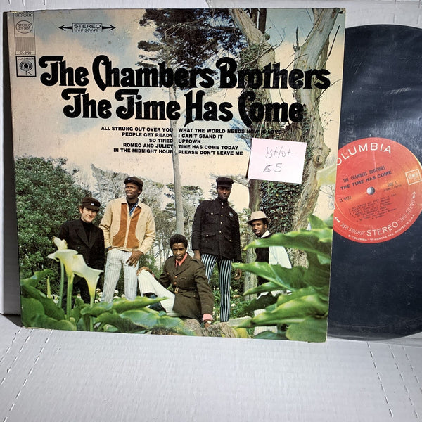 The Chambers Brothers Time Has Come Columbia CS 9522 VG+/VG+- Soul LP