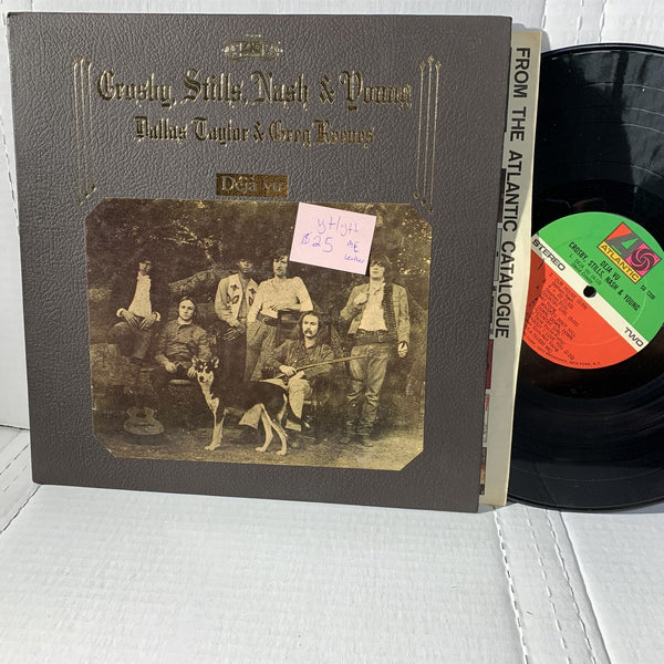 Crosby Stills Nash Young déjà vu- Atlantic SD 7200 ME VG+/VG++ Leather LP