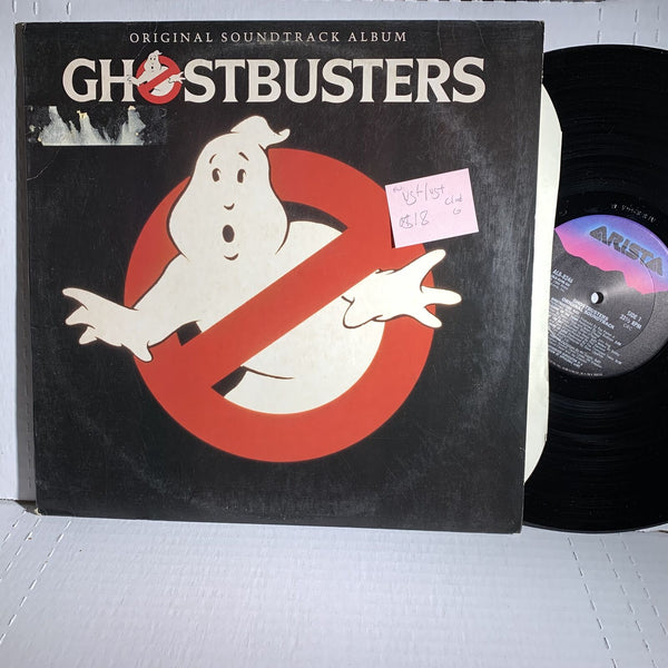 Ghostbusters Motion Picture Sountrack Record LP VG+/VG+ Club Edition FW