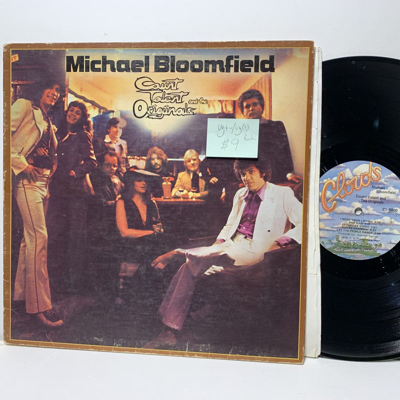 Michael Bloomfield Count Talent & Originals Clouds 8805 Blues Rock VG+-/VG