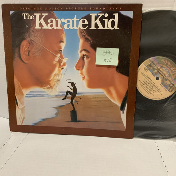The Karate Kid Soundtrack Record LP VG++/VG+ Casablanca 53 Rare Movie