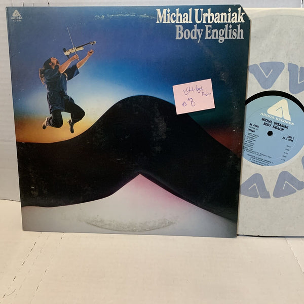 Michael Urbaniak Body English- Arista AL 4086 VG++/VG+ Jazz Fusion Record LP