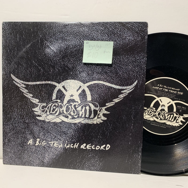 Aerosmith A Big Ten Inch Record Promo Rock Columbia 59905 VG+/VG+ 10""