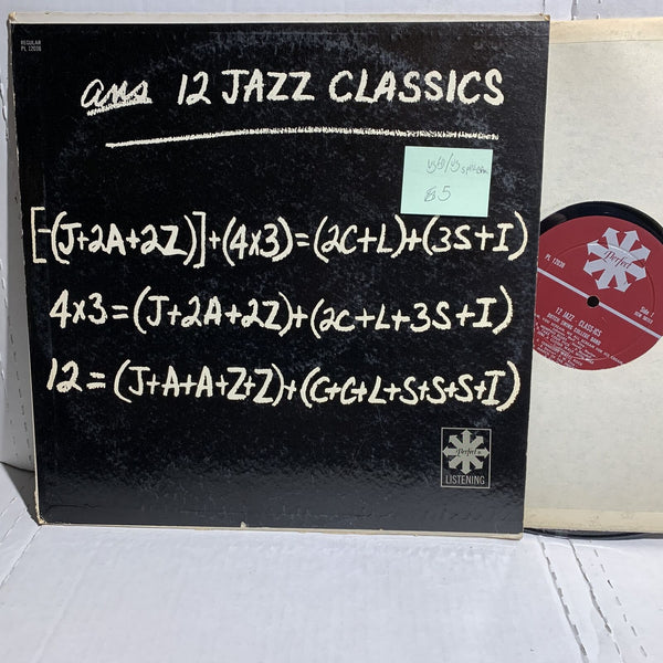 12 Jazz Classics- Perfect PL 12038 VG(+)/VG Split Bottom Jazz Record LP