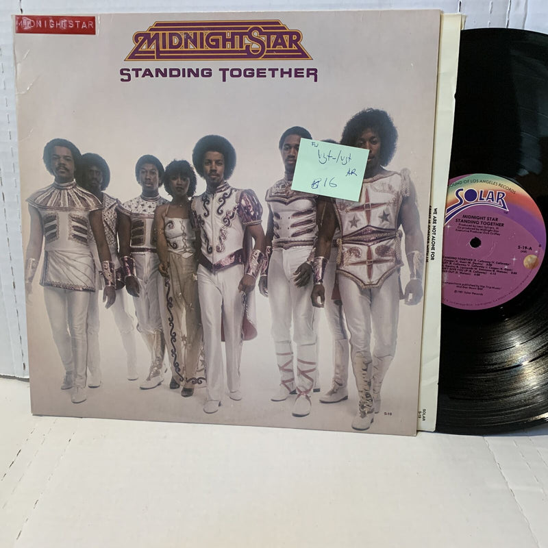 Midnight Star Standing Together- Solar S 19 AR VG+-/VG+ FW Funk Disco Record