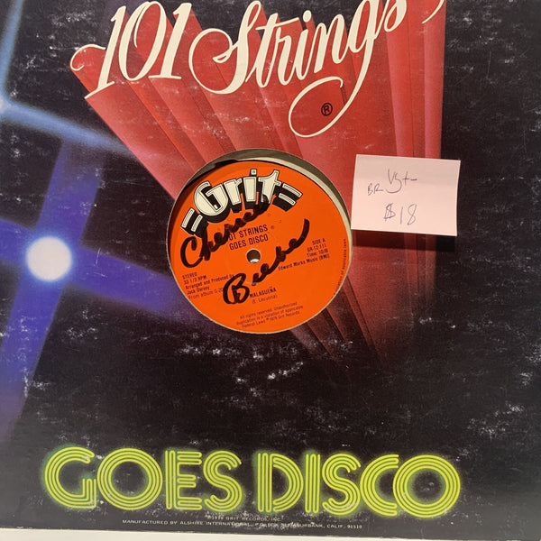 101 Strings Goes Disco Malaguena- Grit 12-111 VG+- BR Disco 12""