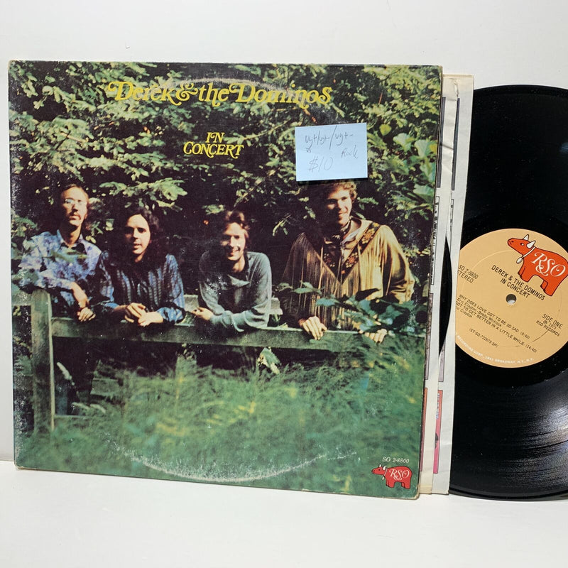 Derek & Dominos In Concert RSO 8800 2LP VG+/VG+- /VG+- Rock 2LP