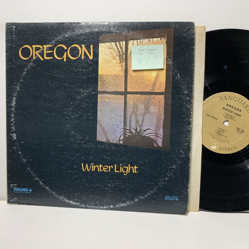 Oregon Winter Light- Vanguard 79350 VG+-/VG+- Jazz LP