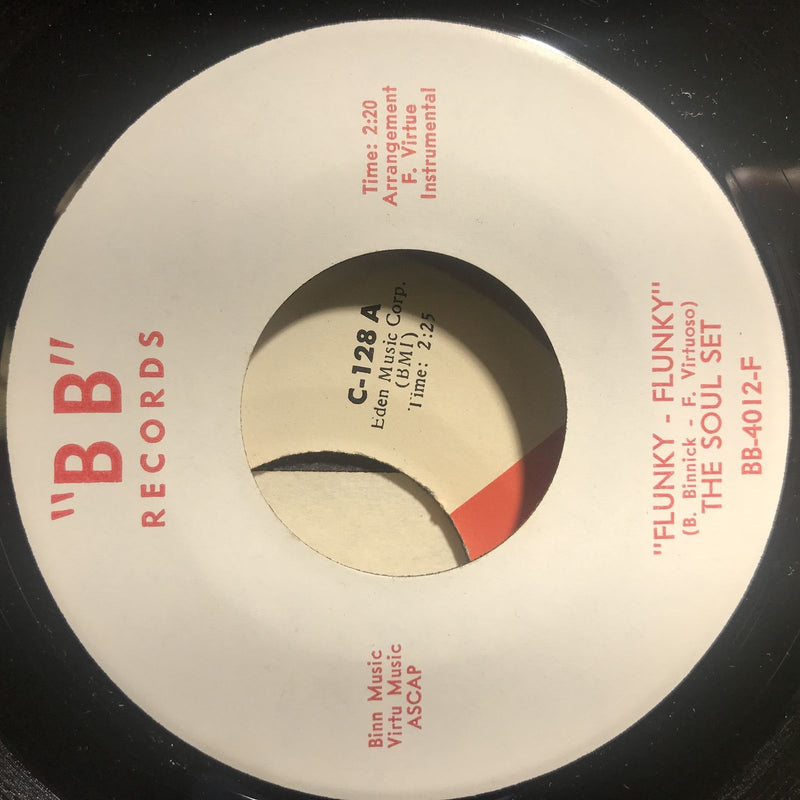 The Soul Set- Mickey's Funky Monkey/Flunky Flunky- BB 4012- EX++