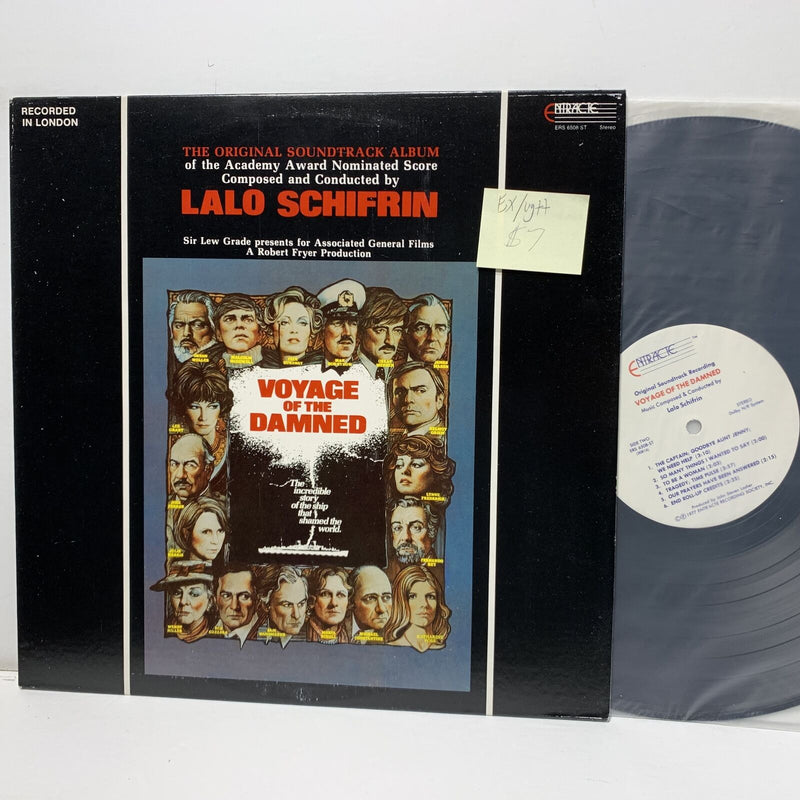 Lalo Schifrin Voyage Of The Damned Soundtrack- Entracte 6508 EX/VG++