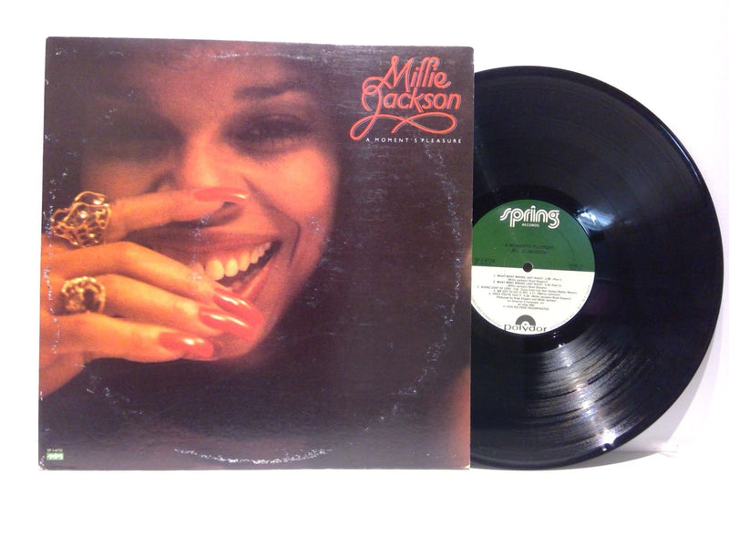 Millie Jackson- A Moment's Pleasure- Spring 1-6722 72- VG+/VG(+) Disco Soul