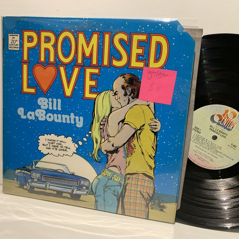 Bill LaBounty- Promised Love- 20th Century Rock LP- VG+-/VG+-
