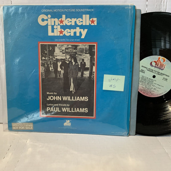 John Williams Paul Williams Cinderella Liberty Movie Soundtrack Record LP VG+