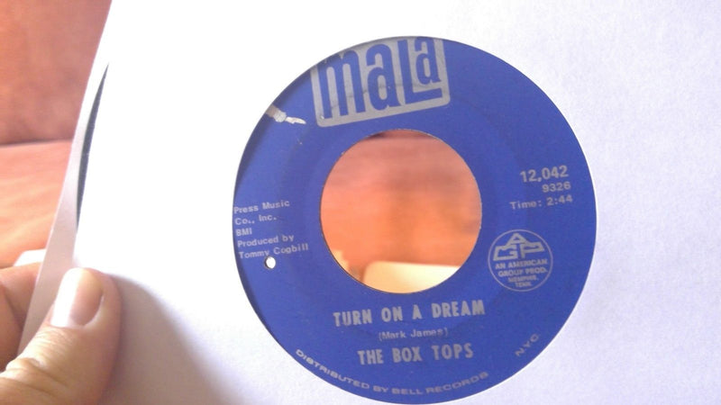 The Box Tops ‎– Turn On A Dream / Together - Mala 12 042 - VG+ BB hole