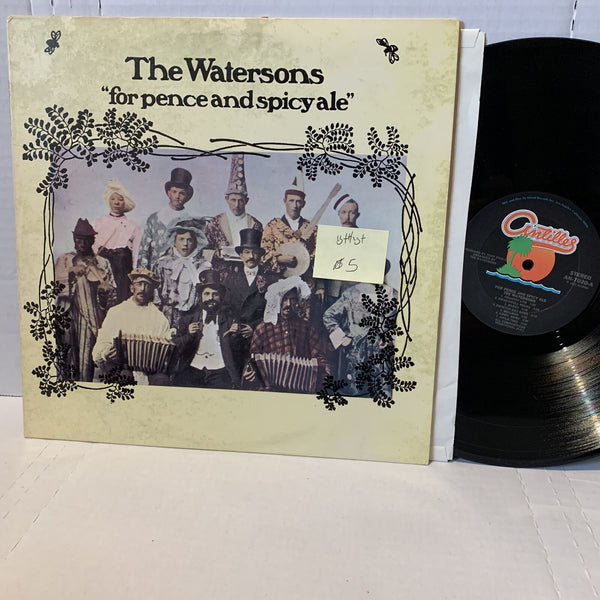 The Watersons For Pence & Spicy Ale- Antilles 7020 VG++/VG+ Folk Record LP