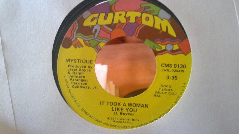 Mystique ‎– Somebody, Somebody To Love Me - Curtom CMS 0130 - Soul 45 - VG+