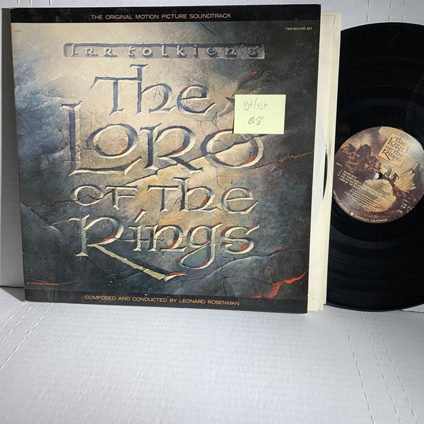 Leonard Roesenman Lord Of The Rings Soundtrack Record 2LP VG+/VG+