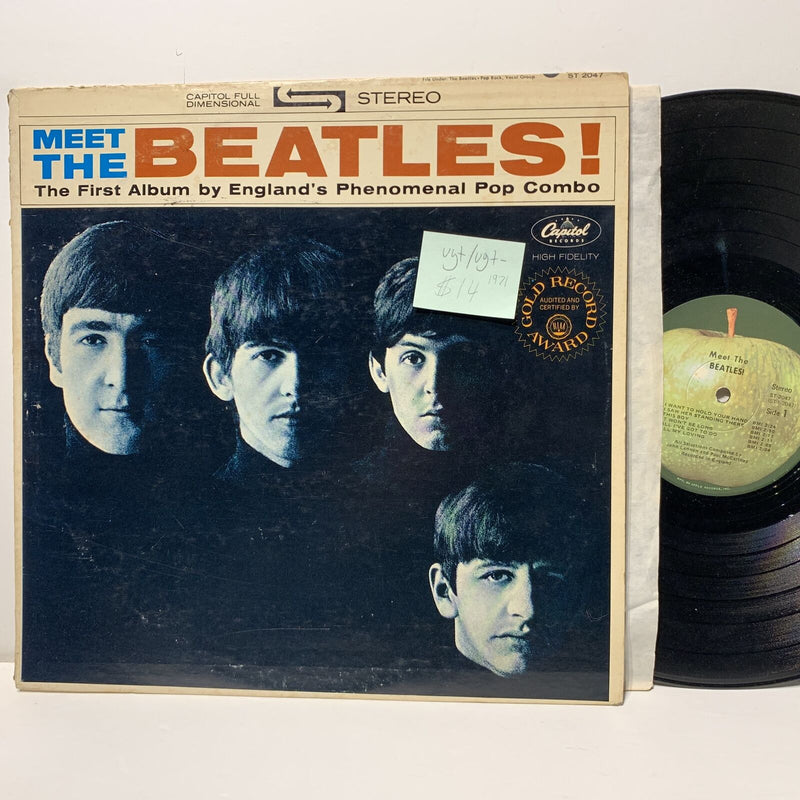 The Beatles Meet The Beatles Capitol Apple 2047 VG+/VG+- 1971