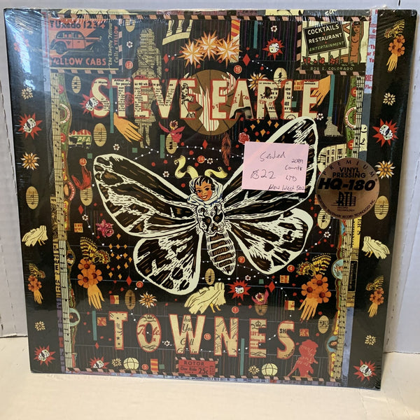 Steve Earle Dukes Townes New West 5002 SEALED 2009 Ltd Country Record LP