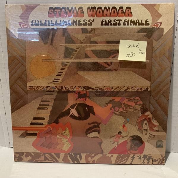 Stevie Wonder Fulfillingness First Finale Tamla T6 332S1 SEALED Soul Record LP